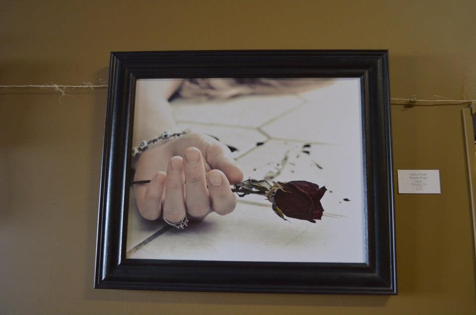 "Hand of Death Brandon Engel [d]eath Photographic Print 24""X36"" 200"