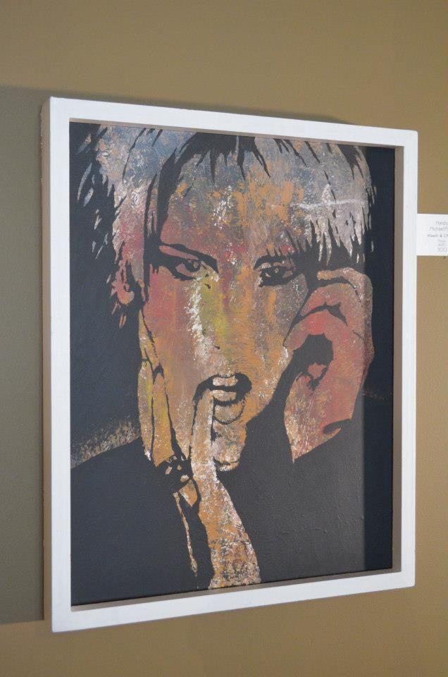 Hands Michael Pysh Hands & [FEEt] Acrylic 16x20 300