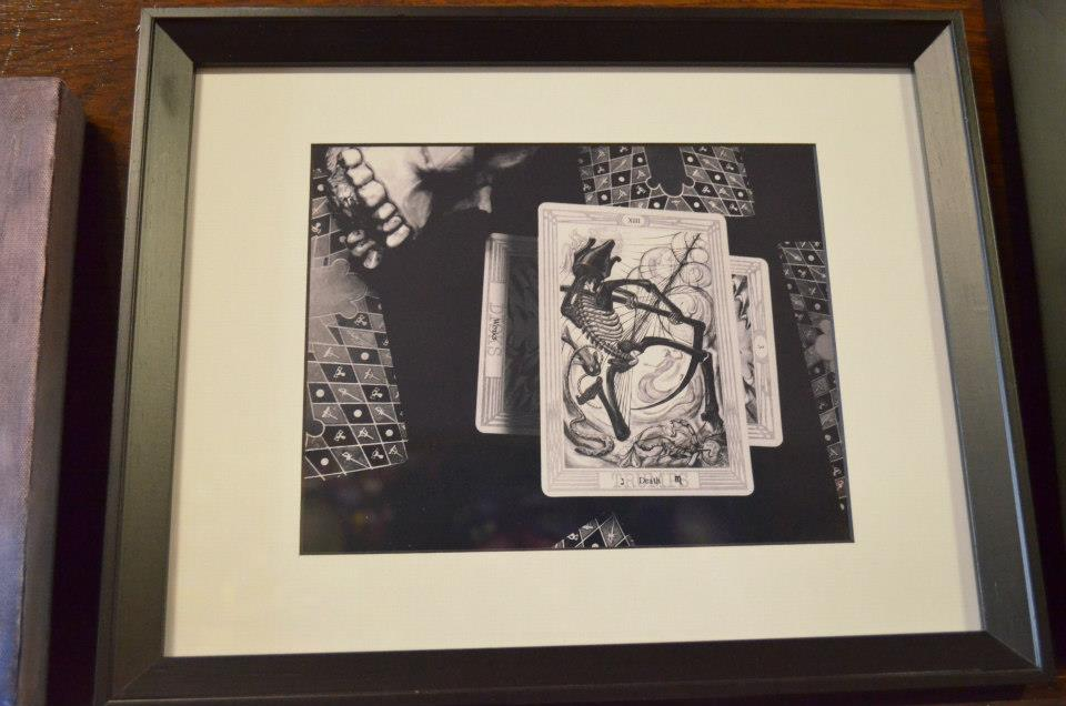 "Death Tarot Stacey Shukis [d]eath Photograph 13""x 16"" sold"