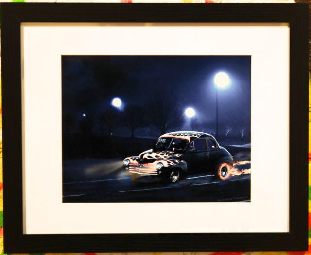 Night Race | Brenda Turner | Digital Art Print | 16x20 | $110.00