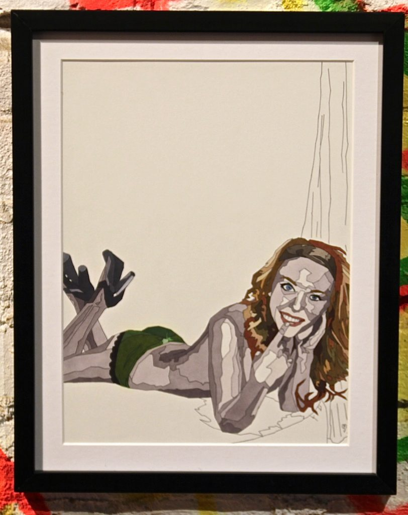 #6 | Michael Shukis Marker | 12x15 | $75