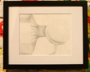"Disconnect | Jacquline Smith Graphite on Paper Diptych (2pc) 12"" x 15"" (each) framed 