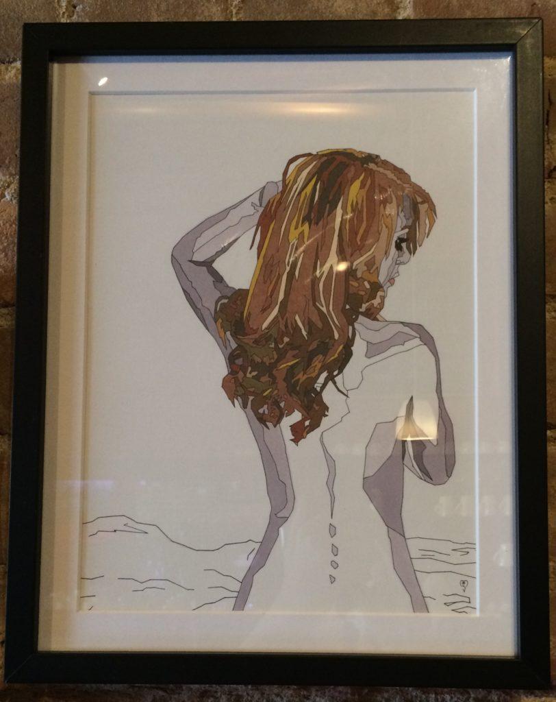 #5 | Michael Shukis Marker | 12x15 | $75